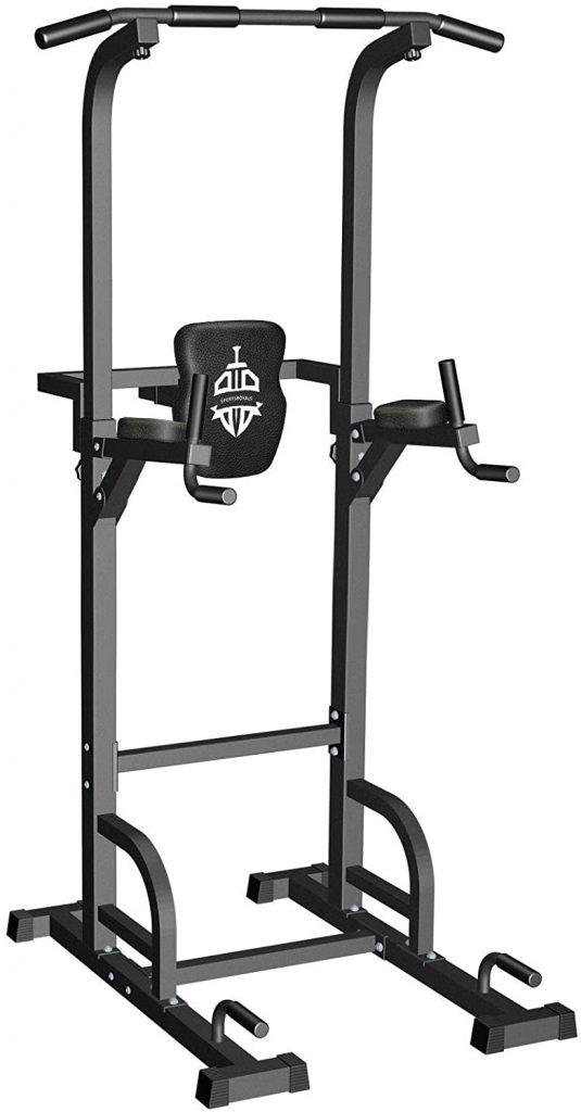 La chaise romaine Sportsroyals peut supporter jusqu'à 200 kilos.