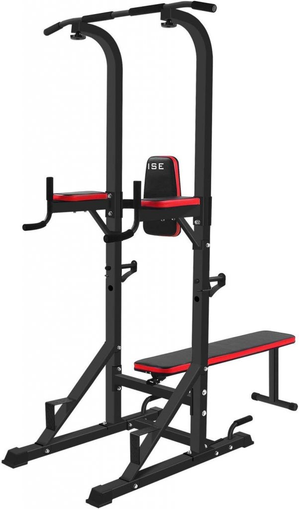 La chaise de musculation multifonctions ISE permet de faire un grand nombre d'exercices.